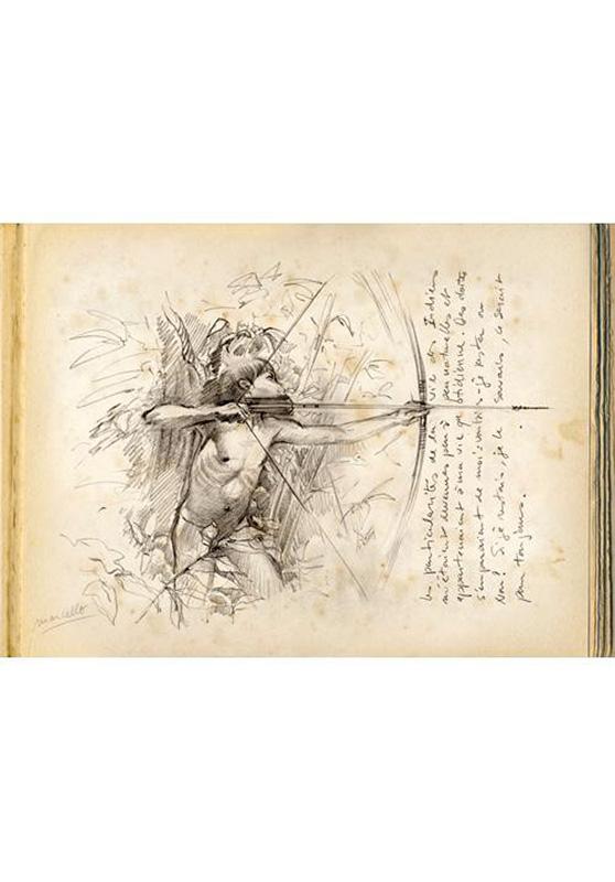 Marcello-art: Post Card Amazonie selva