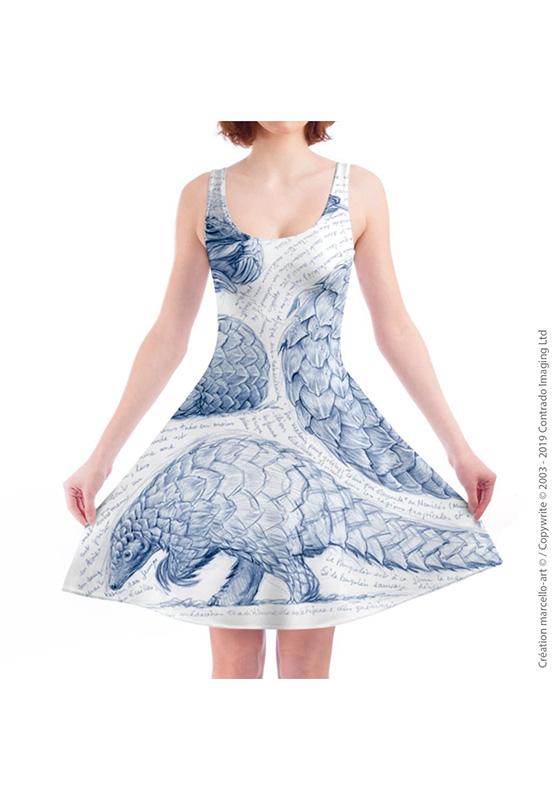 Marcello-art: Dresses Skater dress 276 Pangolin