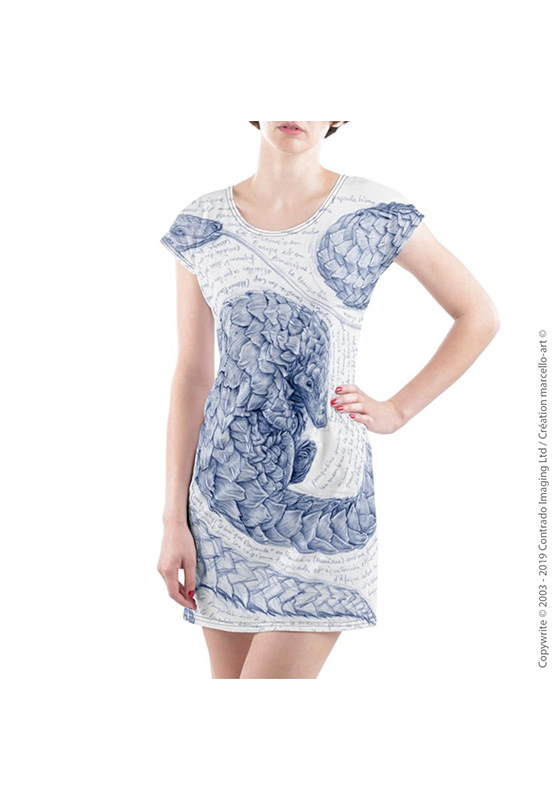 Marcello-art: Dresses T-shirt dress 276 Pangolin