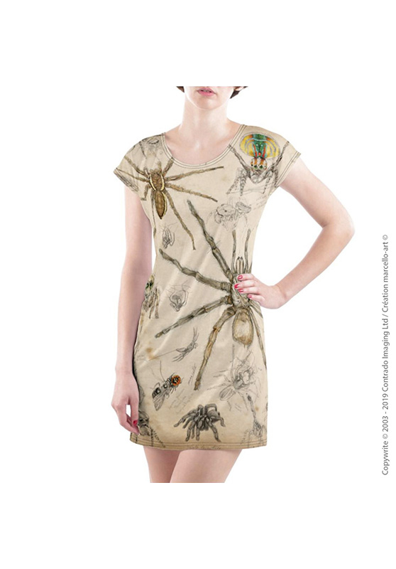 Marcello-art: Dresses T-shirt dress 82 Arachna