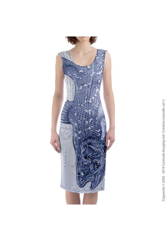 Marcello-art: Dresses Mid-length dress 346 Latimeria chalumnae