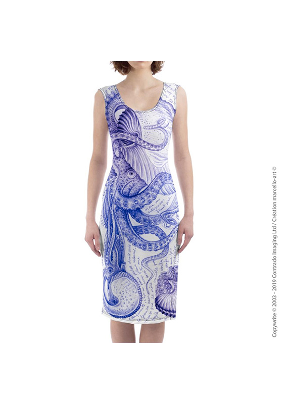 Marcello-art: Dresses Mid-length dress 283 Argonaut