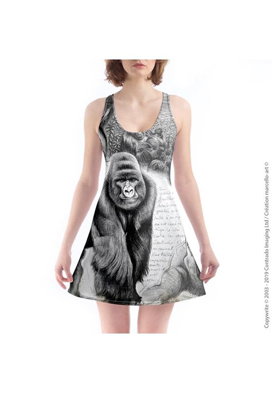 Marcello-art: Nightie Nightie 301 Virunga gorilla