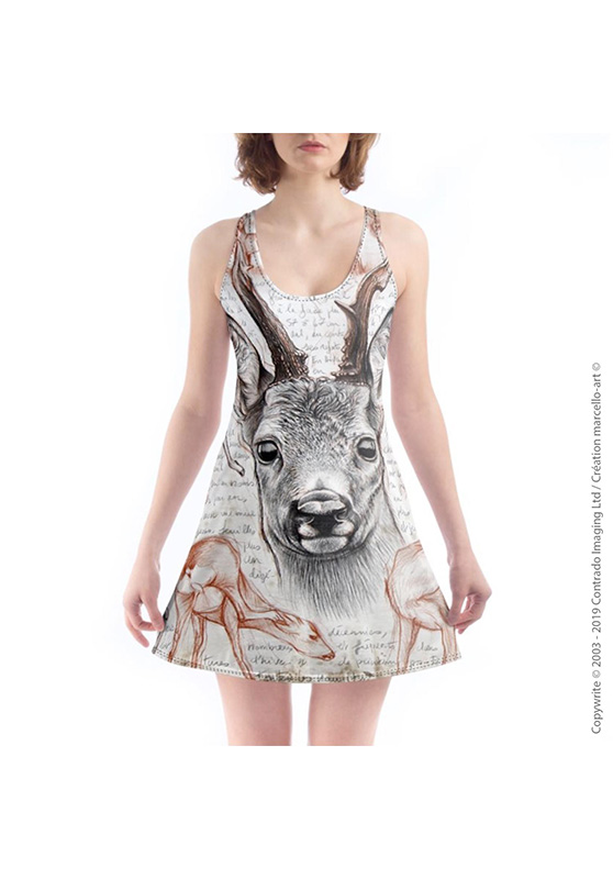 Marcello-art: Nightie Nightie 280 Roe deer