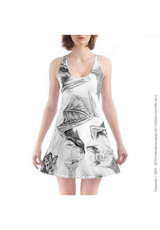 Marcello-art: Nightie Nightie 31 Pipistrelle - white