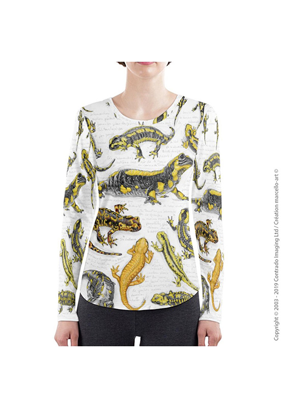 Marcello-art: Long sleeved T-shirt Long Sleeve T-Shirt 383 Salamander