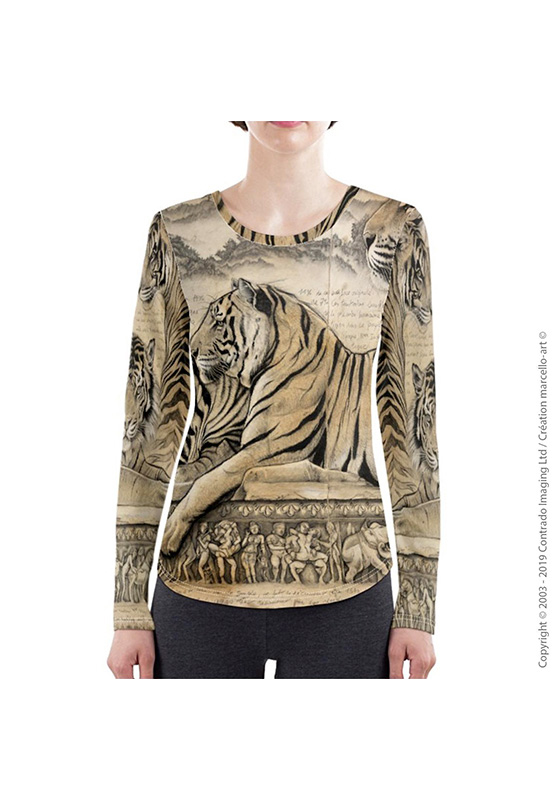 Marcello-art: Long sleeved T-shirt Long Sleeve T-Shirt 304 Kamasutra
