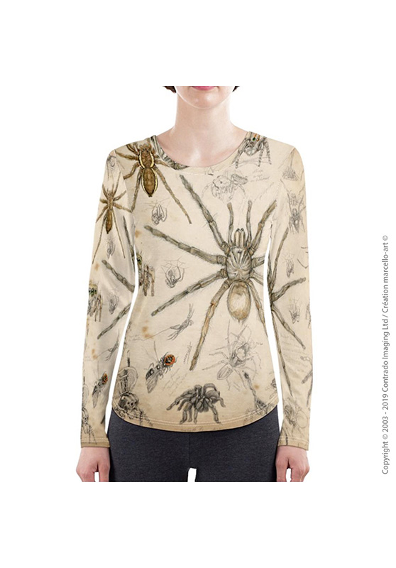 Marcello-art: Long sleeved T-shirt Long Sleeve T-Shirt 82 Arachna