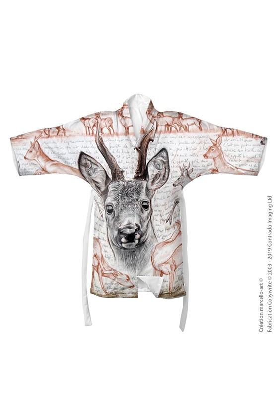 Marcello-art : Kimono Kimono 280 Chevreuil