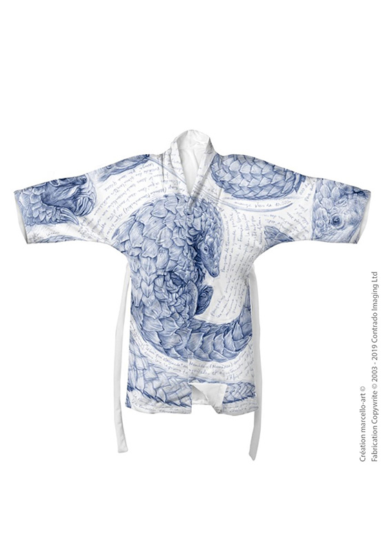 Marcello-art: Kimono Kimono 276 Pangolin