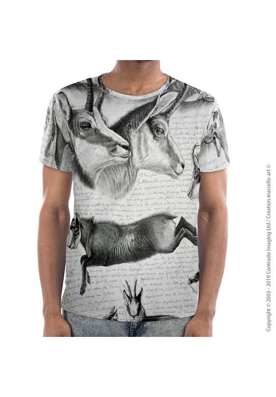 Marcello-art: Short sleeved T-shirt Short Sleeve T-Shirt 349 Chamois