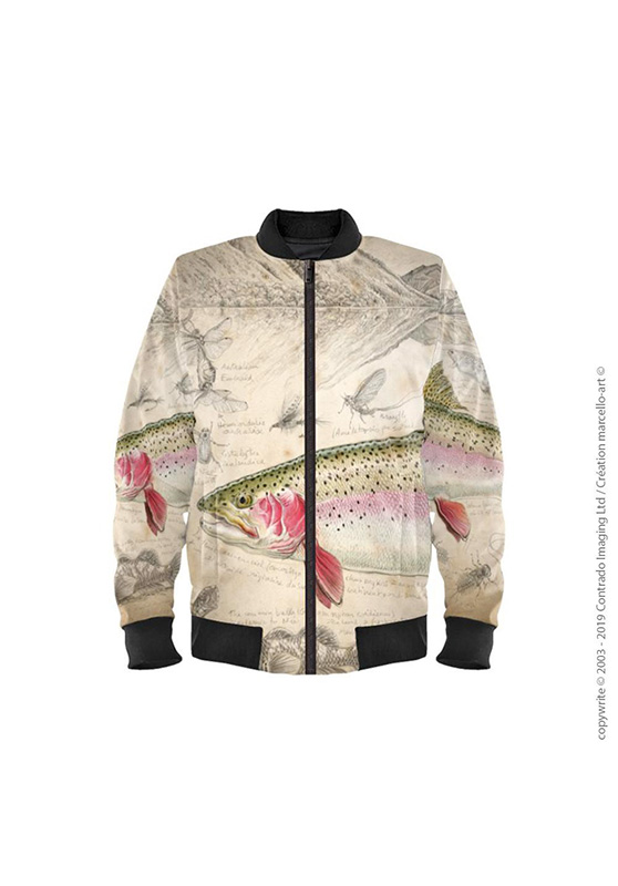Marcello-art: Bombers Bomber 373 Rainbow trout