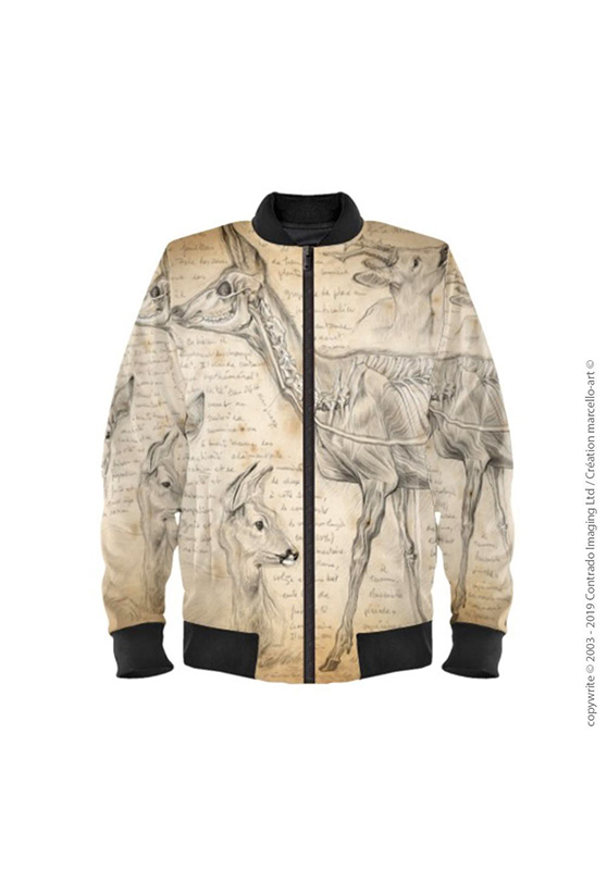Marcello-art : Bombers Bomber 361 Rumination chevreuil