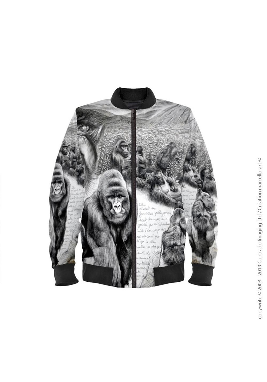 Marcello-art: Bombers Bomber 301 Virunga gorilla