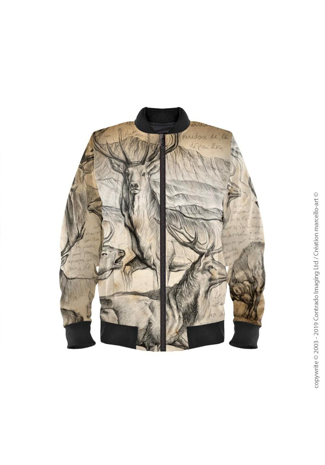 Marcello-art: Bombers Bomber 295 Deer slab