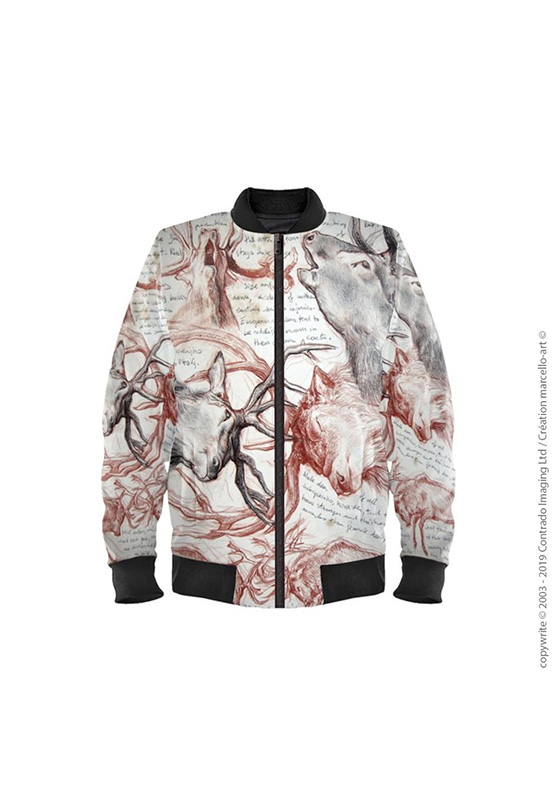 Marcello-art: Bombers Bomber 226 Deer deer fight