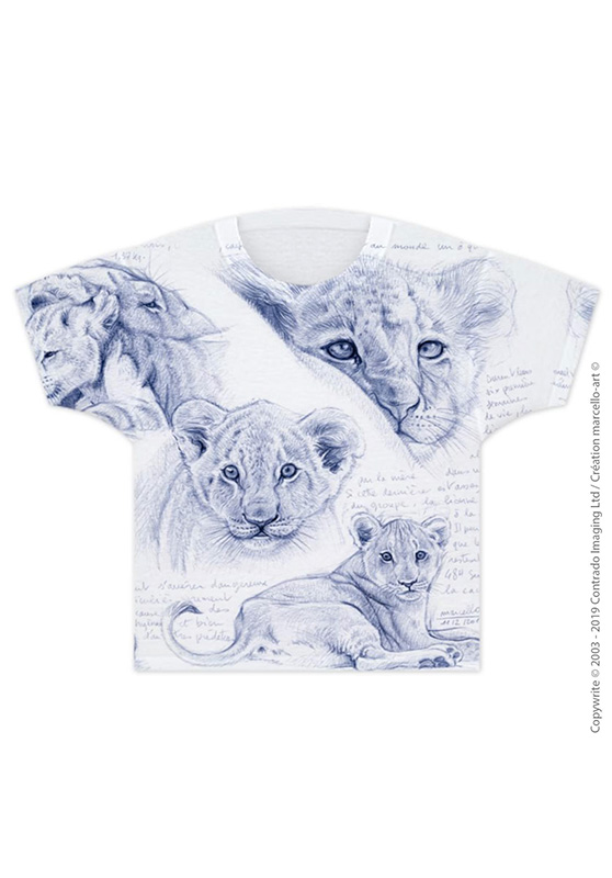 Marcello-art: T-shirt T-shirt 330 Cubs - mother of pearl