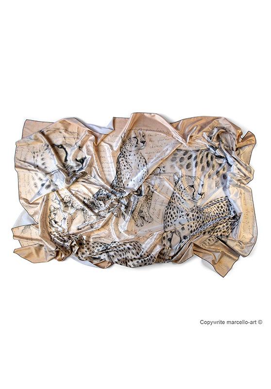 Marcello-art : Rectangulaires Foulard 338 Malaika