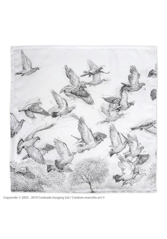 Marcello-art: Bandana Bandana 232 Spot-winged Pigeon