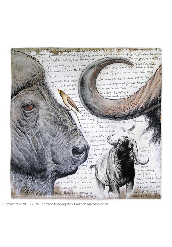 Marcello-art: Bandana Bandana 227 B Red-billed Oxpecker