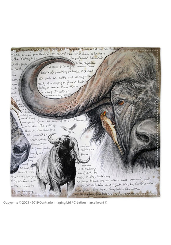 Marcello-art: Bandana Bandana 227 A Red-billed Oxpecker