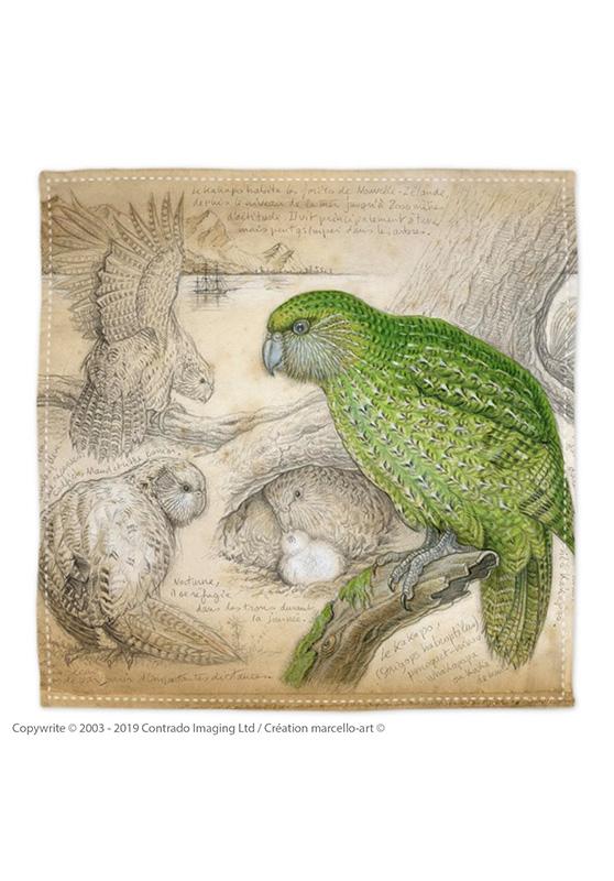 Marcello-art: Bandana Bandana 192 Kakapo
