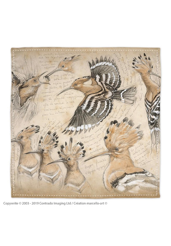 Marcello-art: Bandana Bandana 182 Hoopoe