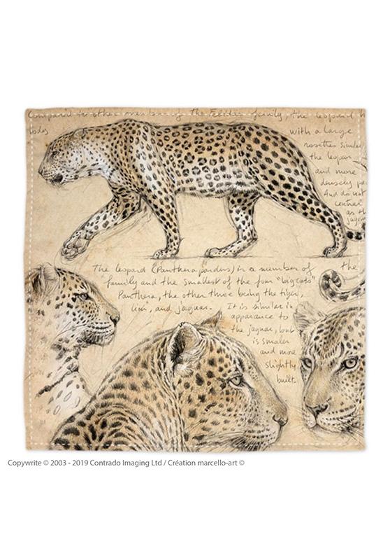 Marcello-art: Bandana Bandana 180 Leopard
