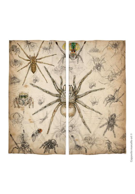 Marcello-art : Écharpe tube Écharpe Tube 82 Arachna