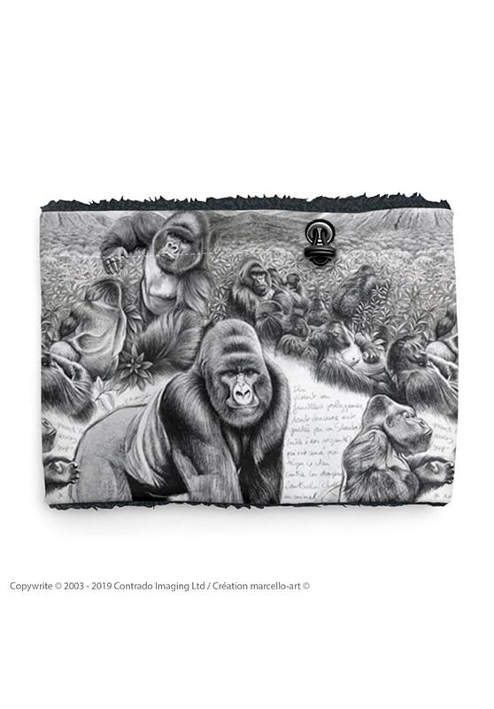 Marcello-art : Snood Snood 301 Gorille Virunga