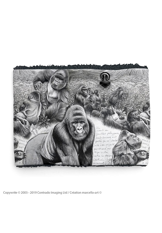 Marcello-art: Snood Snood 301 Virunga gorilla