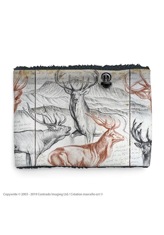 Marcello-art: Snood Snood 295 Deer slab