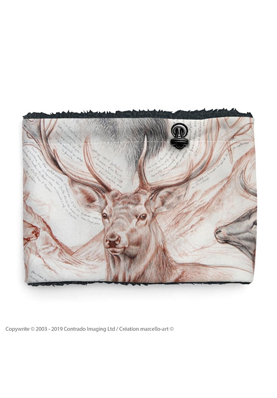 Marcello-art: Snood Snood 278 Red deer