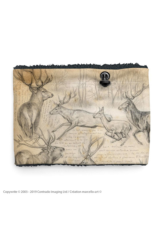 Marcello-art: Snood Snood 271 Red deer