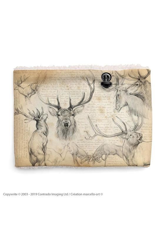 Marcello-art: Snood Snood 52 Red deer