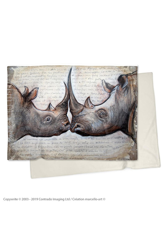 Marcello-art : Plaid Plaid 106 Rhino Kiss