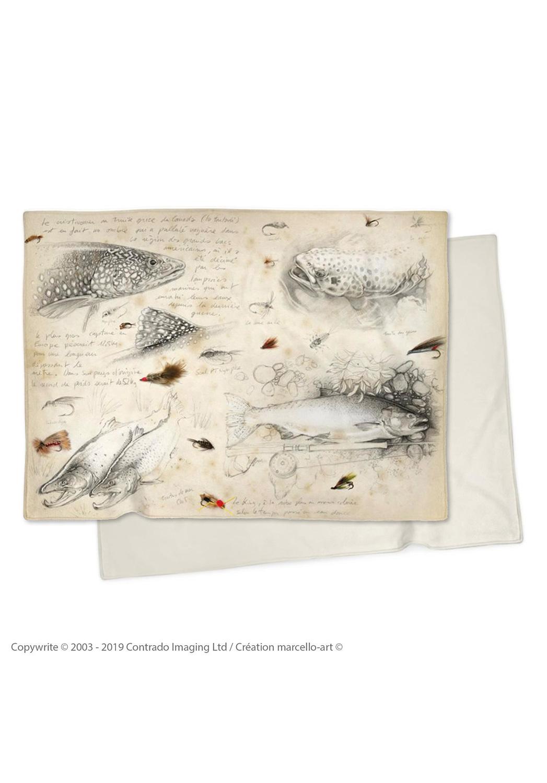 Marcello-art: Plaid Plaid 35 Flyfishing