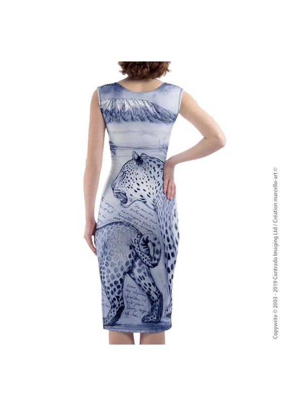 Marcello-art: Dresses Mid-length dress 252 Twilight leopard