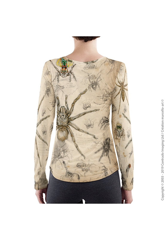 Marcello-art : T-shirt manches longues T-Shirt manches longues 82 Arachna