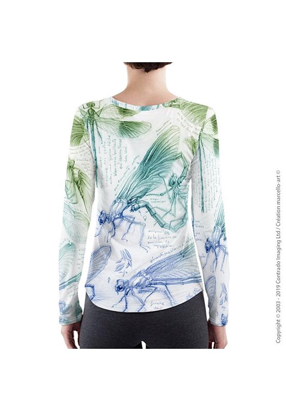Marcello-art : T-shirt manches longues T-Shirt manches longues 255 Caloptéryx