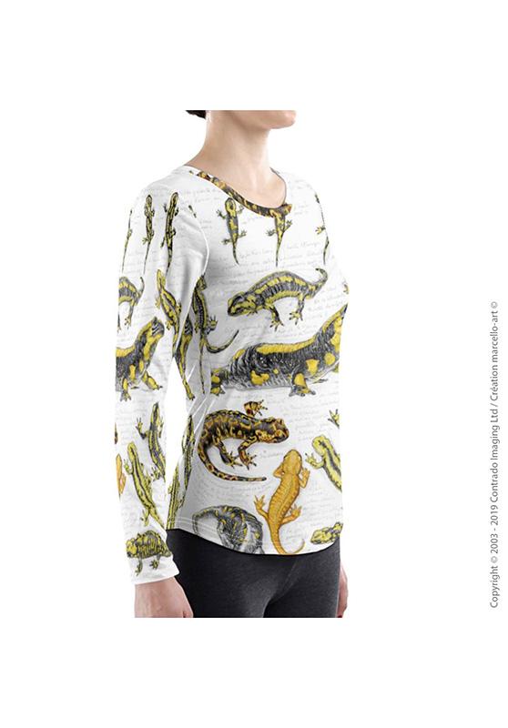 Marcello-art: Long sleeved T-shirt Long Sleeve T-Shirt 383 Salamander