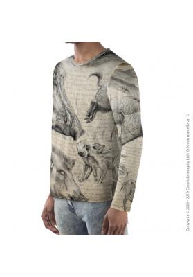 Marcello-art: For men Long Sleeve T-Shirt 347 Sus scrofa