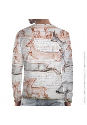 Marcello-art: For men Long Sleeve T-Shirt 280 Roe deer