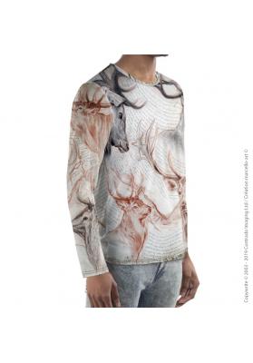 Marcello-art: For men Long Sleeve T-Shirt 278 Red deer