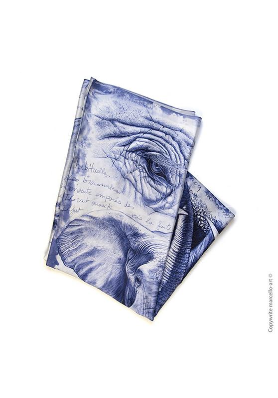 Marcello-art: Rectangular Rectangular scarve 303 Satao
