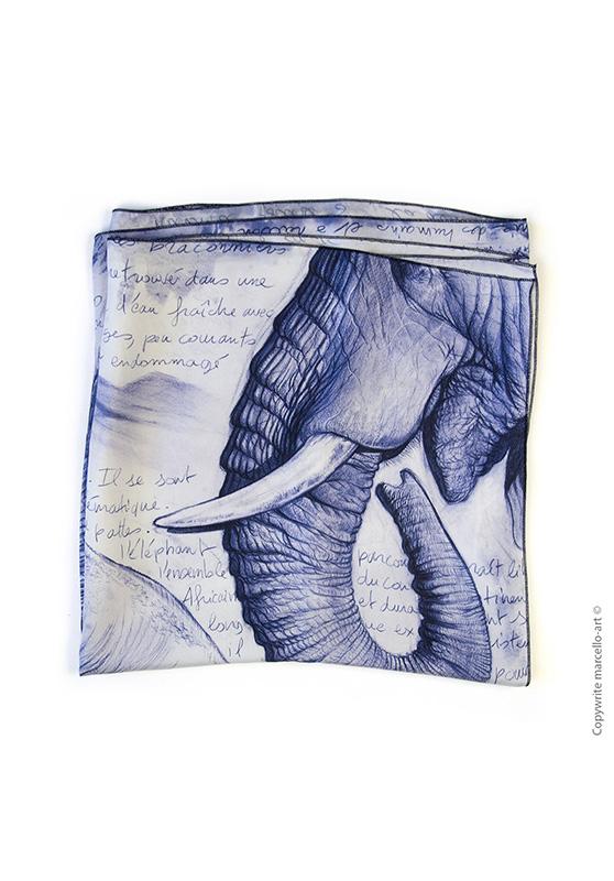 Marcello-art : Rectangulaires Foulard 303 Satao