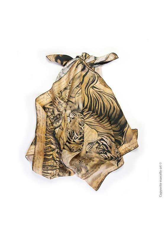 Marcello-art: Rectangular Rectangular scarve 304 Kamasutra