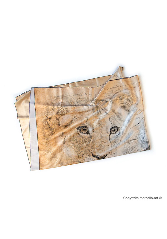 Marcello-art: Rectangular Rectangular scarve 331 Cubs