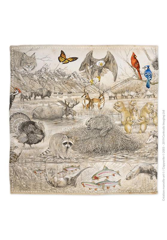 Marcello-art: Bandana Bandana 393 American fauna