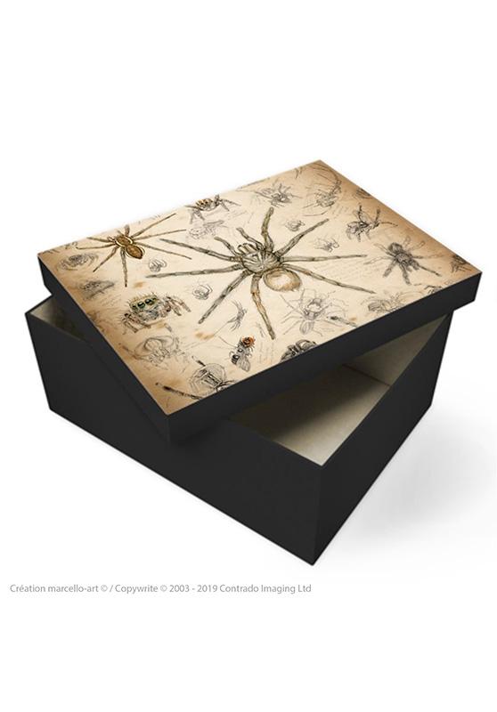 Marcello-art: Decoration accessoiries Souvenir box 82 Arachna